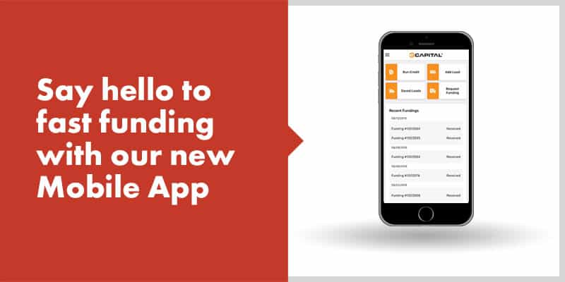 Fast funding with new eCapital mobile app